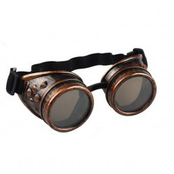 Steampunk goggles roodkoper